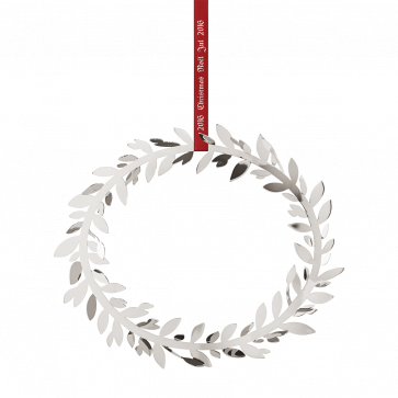 Georg Jensen year's Christmas Mobile 2016 Wreath-Silver