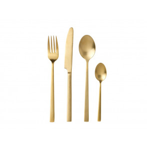 Bitz cutlery set 24 parts, brass