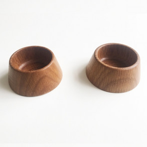 2 Egg / Salt / Pepper-cup - OAK