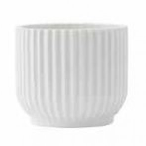 Rosendahl Lyngby flower pot cover, white